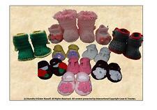 Lavorato all' uncinetto: BABY / RINATO calzature 2 Stili / taglie MPN cro135 frandor formati