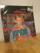 Jeremy Jordan Right kind of love 12 inch Vinyl Record Beverley Hills 90210