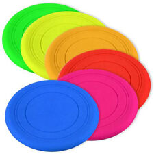 Silicone Pet Dog Flying Saucer Disc Frisbee Toy for Exercise Training Tool OK-p