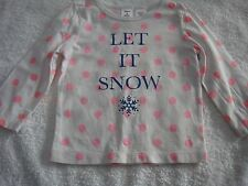 CARTERS BABY GIRL L/S TOP SIZE 1