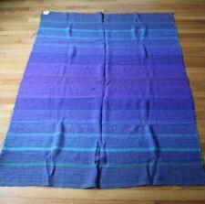 Avoca Hand-Weavers Purple Woven Wool Fabric Ireland 64x46