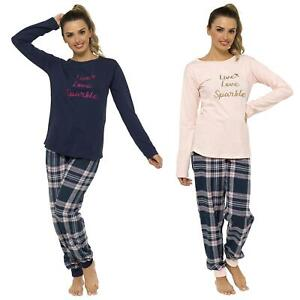 Ladies 'Live Love Sparkle' Pyjama Set In A Bag ~ Perfect Gift