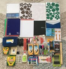 NEW Lot of School Office Supplies Pen Marker Pencil Highlighter Notebook 1096