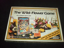THE WILD FLOWER GAME--RARE VINTAGE FAMILY BOARD GAME BY ED-U-GAMES 1985