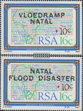 Zuid-Afrika 719-720 (compleet.Kwestie.) postfris MNH 1987 Flutkatastrophe in Nat