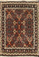 Geometric Traditional Hand-knotted Area Rug Classic Oriental Carpet 2x2 Square