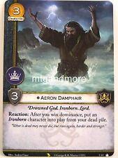 A Game of Thrones 2.0 LCG - 1x #U065 Aeron Damphair - Valyrian Draft Pac