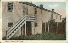 Nantucket MA The Old Jail c1920 Postcard