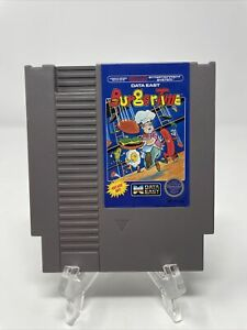 Burgertime NES Nintendo Authentic, Cleaned, & Tested! Great Condition! Awesome!