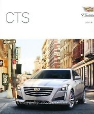 2018 cadillac brochure. beautiful brochure 2018 cadillac cts 50page original car sales brochure catalog for cadillac brochure o