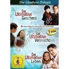 DVD-Set: DIE GLAUBENS-TRILOGIE - Das Ultimative Geschenk - Vermächtnis - Leben