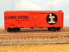 """HO SCALE KAR-LINE ILLINOIS CENTRAL """"MAIN LINE"""" IC #22103 40' BOX CAR"""