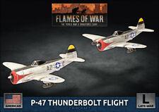 FLAMES OF WAR: UBX85 - P-47 THUNDERBOLT FIGHTER FLIGHT - BNIB