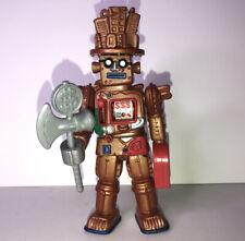 Gold Rush Slot Machine Robot Power Rangers Action Figure Complete W/Weapon
