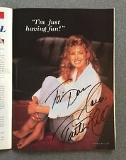 Vintage Country Fever Magazine June 1994 Early Full Name Signed By Faith Hill