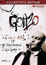 Gonzo Life & Work of Dr Hunter S Thom 0876964001441 With Johnny Depp DVD
