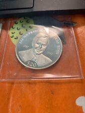 US President George Bush Silver Coin