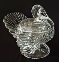 Shannon Crystal Designs Of Ireland 24% Lead Crystal Turkey Candy Dish