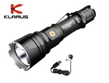 New Klarus XT12GT USB charge Cree XPH35 HI D4 1600 Lumens LED Flashlight Torch