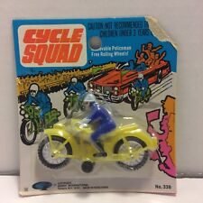 Cycle Squad Toy - Gordy Yonkers N.Y. - Still Sealed in Package - Vintage 1960s?