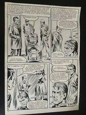 Jolie Planche originale Documents à vendre OSS 117 Aredit 1970 pl 104