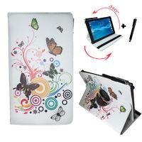 10.1 zoll Tablet Tasche - Archos 101f Neon - 360° Schmetterling Motiv