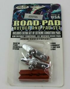 Kool-Stop Road Pad Holder & Pad Set Rim Friendly Compound-All Weather Break Pads