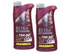 MANNOL Olio Extra GETRIEBEOEL 75w-90 API GL 4/gl 5 LS 2 pezzi á 1 LITRI