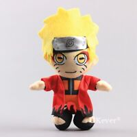 JP Anime Gift NARUTO Uzumaki Naruto Plush Toy Doll 8'' Figure Kids Gift