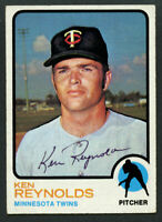 Ken Reynolds #638 signed autograph auto 1973 Topps Baseball Trading Card