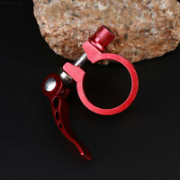 34.9MM Mountain Bike Seat Post Clamp Quick Release Metal Universal New Arrival