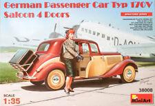 MiniArt 35203 1:35th scale German Passenger car Mercedes Type 170V & figure