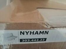 IKEA Nyhamn Bezug für 3 er Bettsofa Borred hellbeige NEU OVP 303.442.23