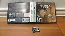Sherlock Holmes: The Mystery of the Mummy (Nintendo DS, 2009)