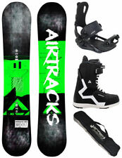 AIRTRACKS Set de Snowboard Souffle Wide + Fixation Master + Bottes + Sac / 152