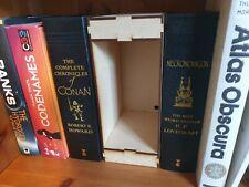 Book nook kit. DIY  space for led lights 24  x 16.5 x 10 cm. 3mm MDF.