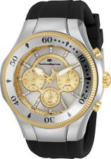 Technomarine TM-118145 Cruise Men's 45mm Stainless Steel Silver Gold Dial Watch