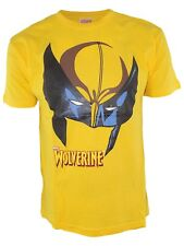 hobby&work tshirt uomo giallo marvel official product wolverine taglia large