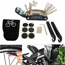 Reifenkleber Fahrrad Flickzeug Werkzeug Reparaturset Fahrradflicken mit Tasche