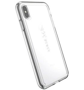 Speck Products GemShell iPhone Xs or iPhone X Case, Clear/Clear