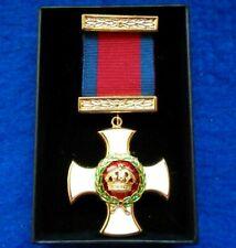 More details for distinguished service order repro medal full size medal, ribbon, resentation box