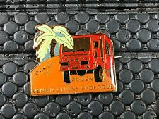 PINS PIN BADGE CAR PARIS DAKAR 92 ROUEN TRUCK CAMION