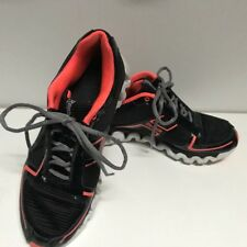 Rebook Ziglite Men's Black And Orange Athletic Shoes Size 5.5