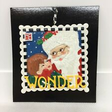 Mary Engelbreit 3� Wonder Christmas Collection Ornament Santa