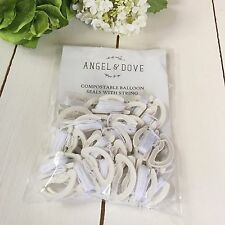25 Compostable Balloon Seals With String - The fastest way to tie your balloons!