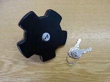 NEU Tankdeckel inkl. 2 Schlüsseln für VW Golf I & Cabrio Sirocco I Jetta I 4B1