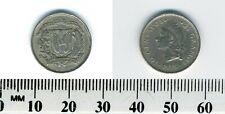 Dominican Republic 1975 - 10 Centavos Copper-Nickel Coin - Native Princess