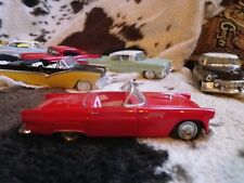 DINKY MATCHBOX DY31 FORD THUNDERBIRD 1955 CABRIOLET rouge 1/43eme comme neuf