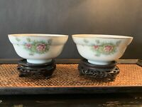 A Pair Antique Chinese Bowls