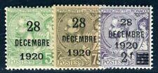 MONACO 1921 46-48 * SATZ AUFDRUCKE 1920 (F4414